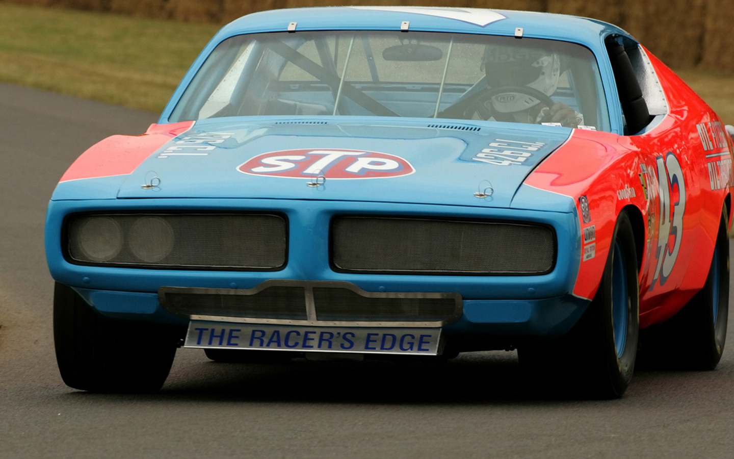1972 Dodge Charger Nascar Race Car Front Angle Turn 1600×1200