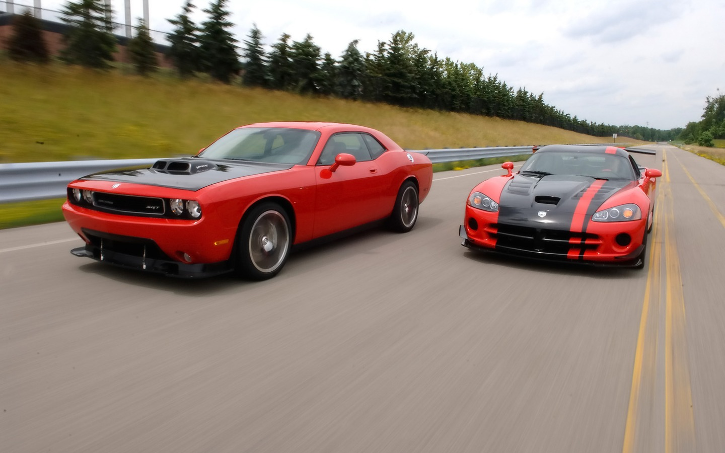2009 Dodge Challenger Srt10 Concept Duo Front Angle Speed 1600×1200