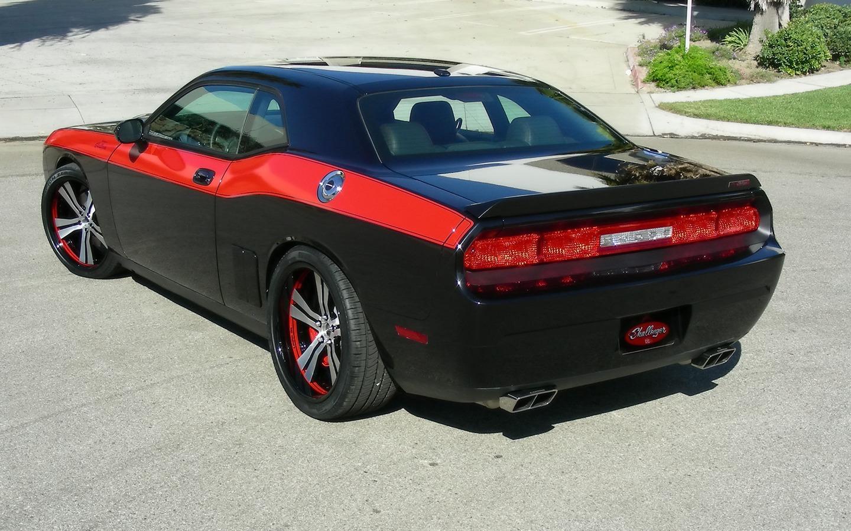 2009 Mr Norms Super Dodge Challenger Black Rear Angle Top 1600×1200