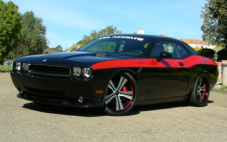 2009 Mr Norms Super Dodge Challenger Black Side Angle 1280×960