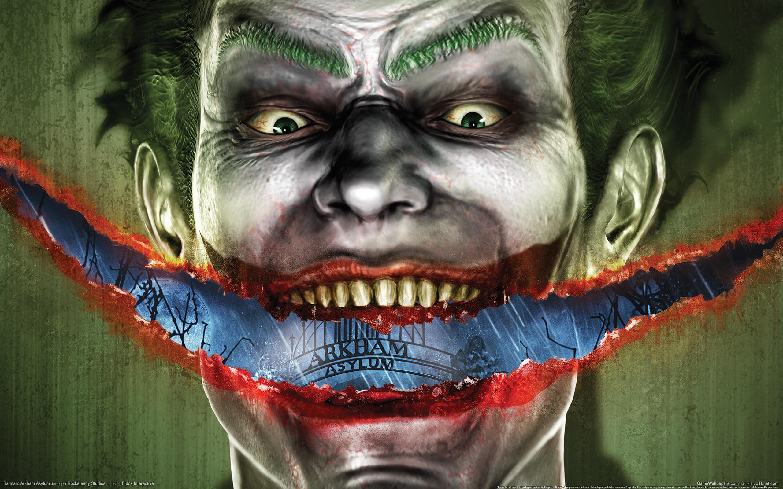 Batman Arkham Asylum 01 2560×1600