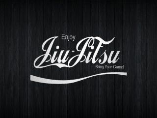 Coka Cola Jiu Jitsu White Dark Wood Boards