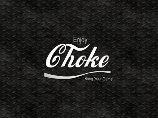Jiu Jitsu Enjoy Choke Black Diamond Background