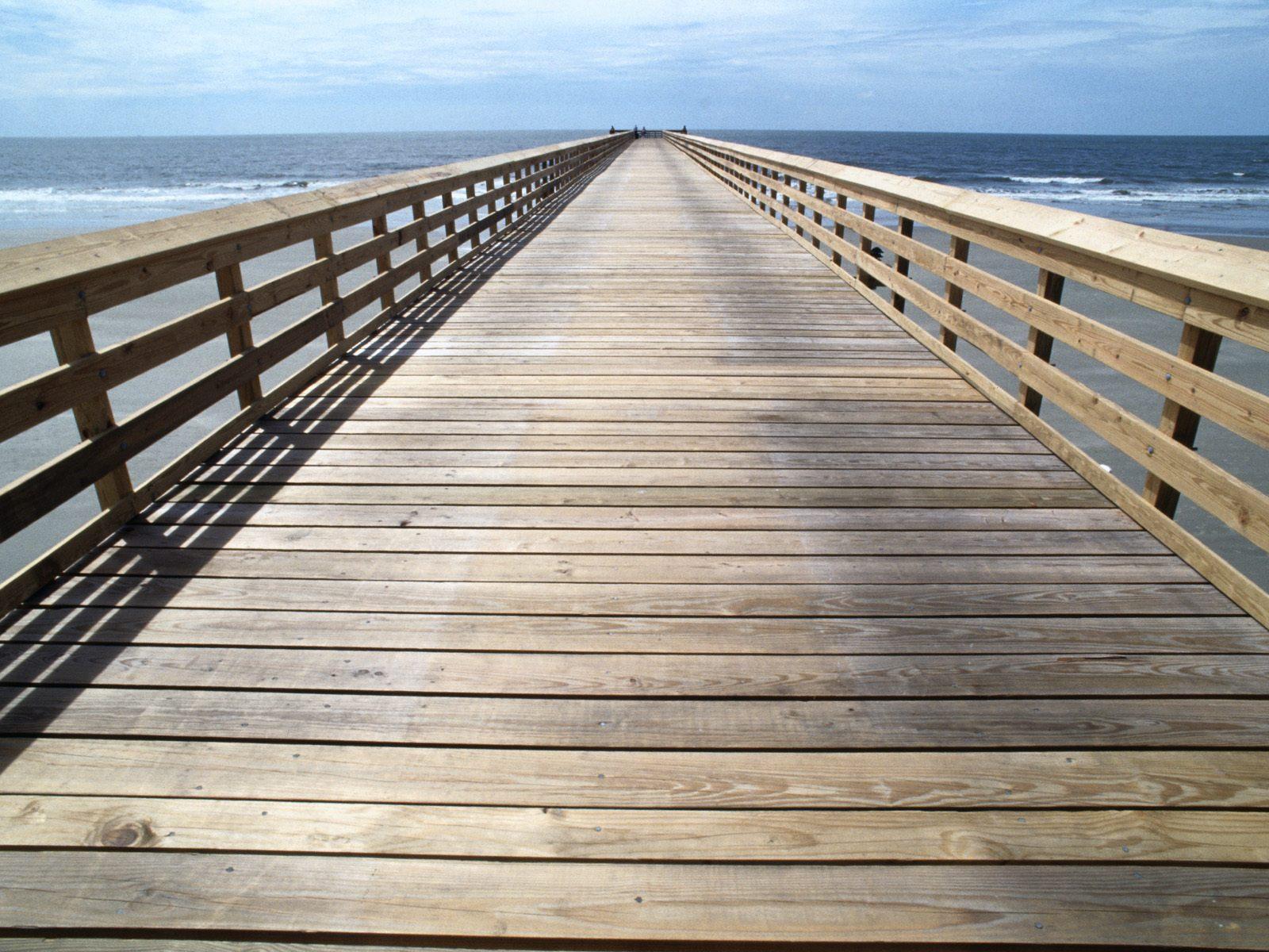 Isle Of Palms Pier, South Carolina